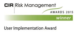 CIR RM Award WINNER User Implementation